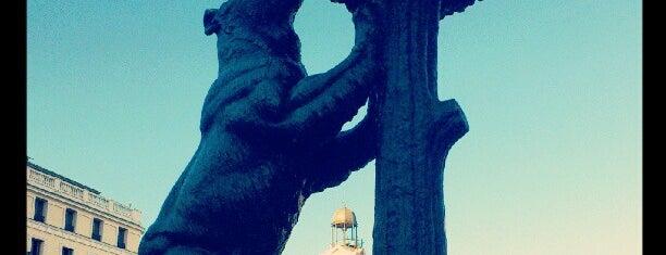Estatua del Oso y el Madroño is one of Madrid, baby!.