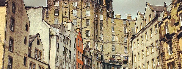 Grassmarket is one of Harry Potter sights.