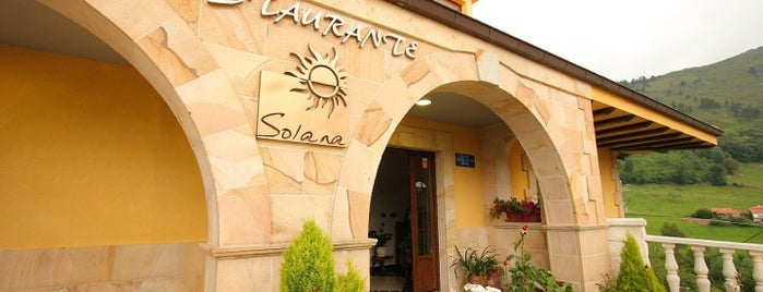 Restaurante Solana is one of RESTS ESPAÑA.