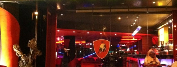 Tonino Lamborghini Lounge is one of shakira.