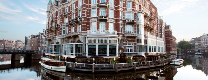 Hotel de l'Europe is one of Amsterdam.