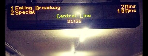 Redbridge London Underground Station is one of Tube Challenge.