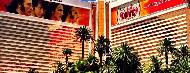 The Mirage Hotel & Casino is one of Vegas.