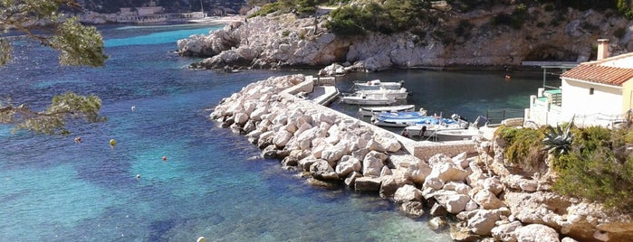Calanque de Morgiou is one of HangOuts x Shops x Sport.