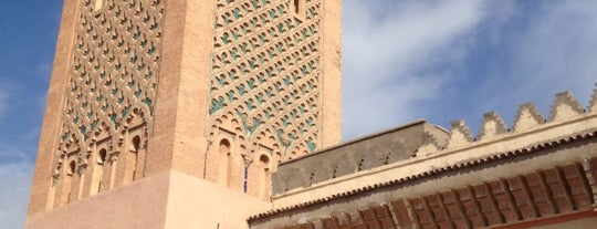 Saadian Tombs is one of CBM in Morocco.