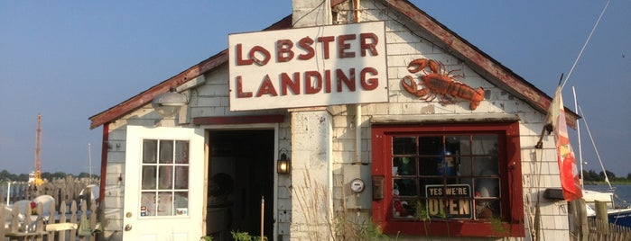 Lobster Landing is one of CT Food to Try (casual).