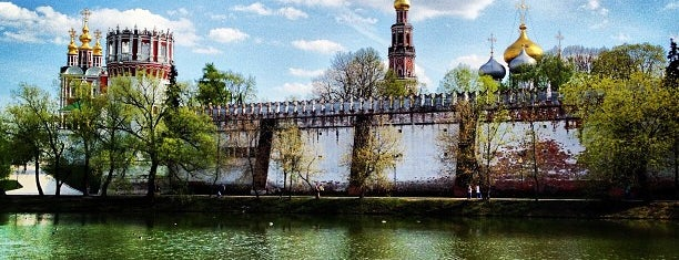 Novodevichy Convent is one of UNESCO World Heritage Sites.