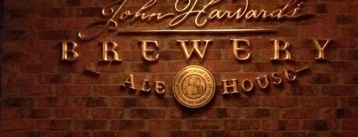 John Harvard's Brewery & Ale House is one of Bars and Restaurants in Boston.