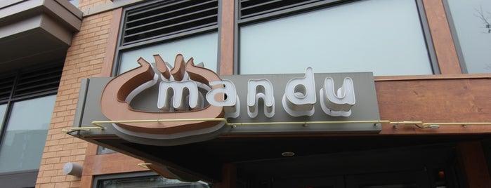 Mandu is one of Restaurants.