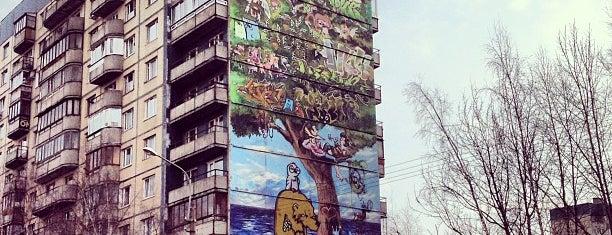 Граффити is one of Интересное в Питере.