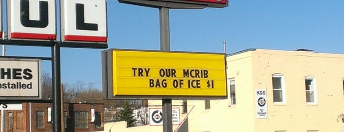 McDonald's is one of Faves.