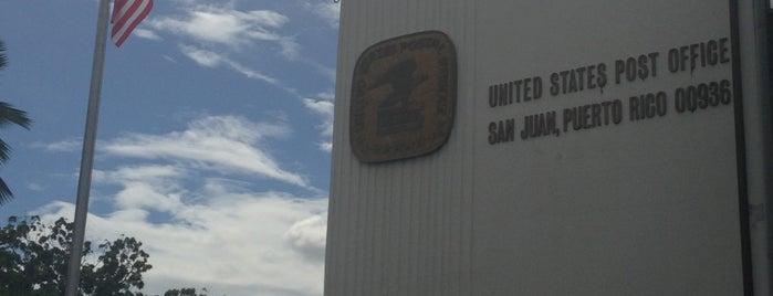 US Post Office is one of Lieux qui ont plu à José.