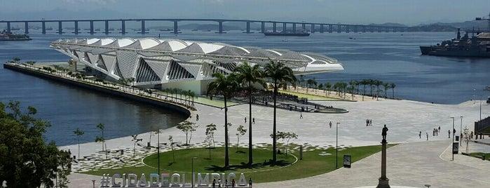 Museu de Arte do Rio (MAR) is one of Travel Guide to Rio de Janeiro.