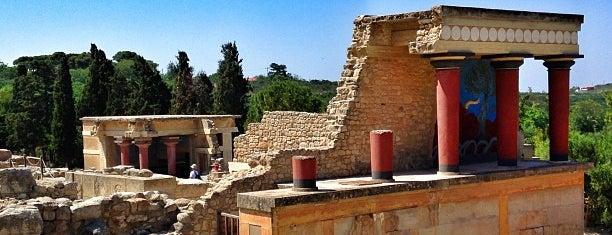 Knossos is one of Cruising Thru Crete.