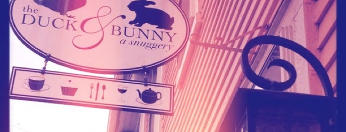 The Duck & Bunny is one of Providence, RI.