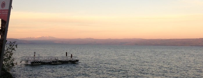 Sea of Galilee - Kinneret (כנרת) is one of Israel 👮.