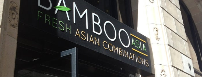 Bamboo Asia is one of cheap eats.
