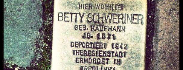 Stolperstein Betty Schweriner is one of Stolpersteine 1933 - 1945.
