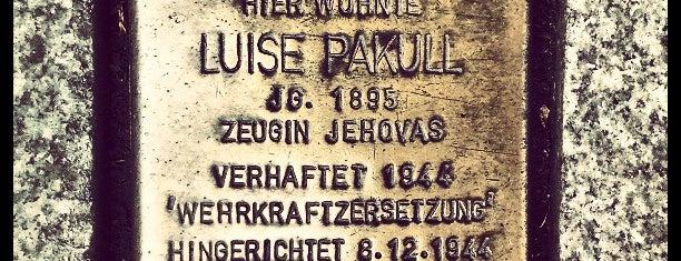 Stolperstein Luise Pakull is one of Stolpersteine 1933 - 1945.
