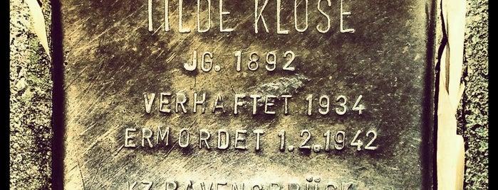 Stolperstein Tilde Klose is one of Stolpersteine 1933 - 1945.