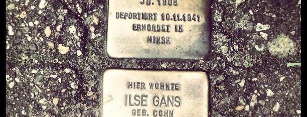 2 Stolpersteine Gans is one of Stolpersteine 1933 - 1945.