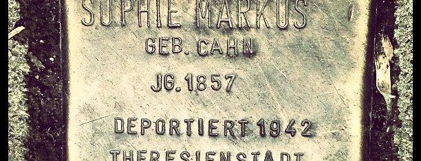 Stolperstein Sophie Markus is one of Stolpersteine 1933 - 1945.