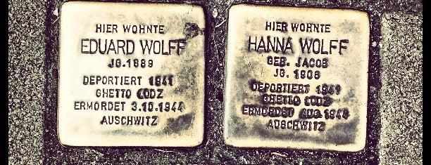 2 Stolpersteine Wolff is one of Stolpersteine 1933 - 1945.