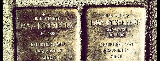 2 Stolpersteine Rosenberg is one of Stolpersteine 1933 - 1945.
