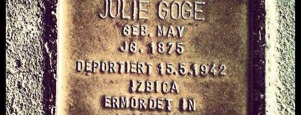 Stolperstein Julie Goge is one of Stolpersteine 1933 - 1945.