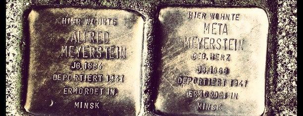 2 Stolpersteine Meyerstein is one of Stolpersteine 1933 - 1945.