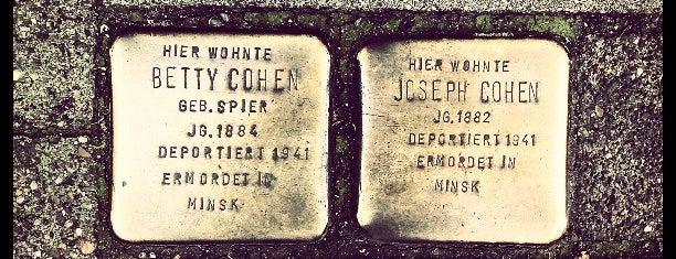 2 Stolpersteine Cohen is one of Stolpersteine 1933 - 1945.