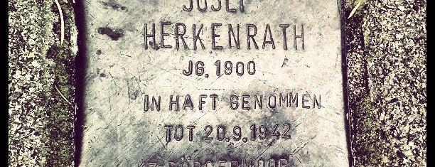 Stolperstein Josef Herkenrath is one of Stolpersteine 1933 - 1945.