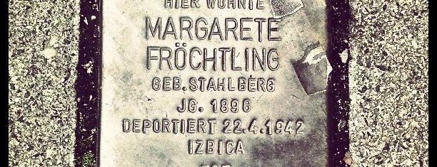 Stolperstein Margarete Fröchtling is one of Stolpersteine 1933 - 1945.