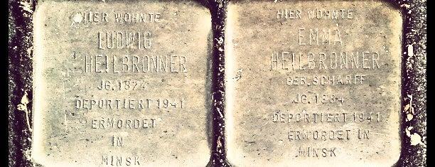 2 Stolpersteine Heilbronner is one of Stolpersteine 1933 - 1945.