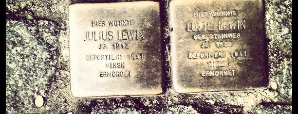2 Stolpersteine Lewin is one of Stolpersteine 1933 - 1945.