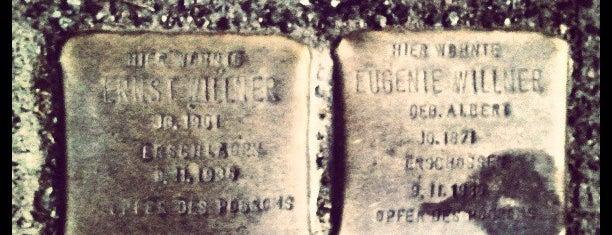 2 Stolpersteine Willner is one of Stolpersteine 1933 - 1945.