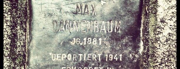 Stolperstein Max Dannenbaum is one of Stolpersteine 1933 - 1945.