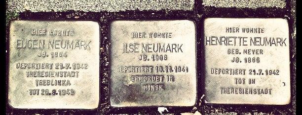 3 Stolpersteine Neumark is one of Stolpersteine 1933 - 1945.