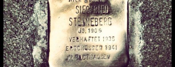 Stolperstein Siegfried Steineberg is one of Stolpersteine 1933 - 1945.