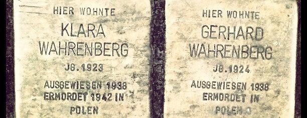 2 Stolpersteine Wahrenberg is one of Stolpersteine 1933 - 1945.