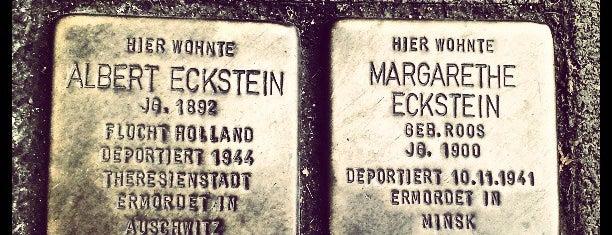 2 Stolpersteine Eckstein is one of Stolpersteine 1933 - 1945.