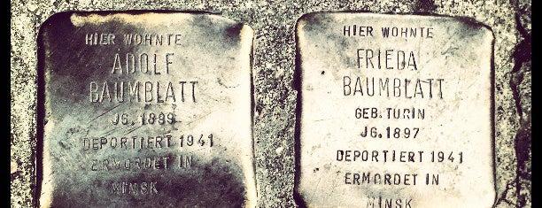 2 Stolpersteine Baumblatt is one of Stolpersteine 1933 - 1945.