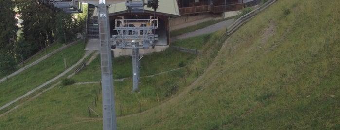 Mittelstation Alpenrosenbahn is one of Skiwelt Lifts.