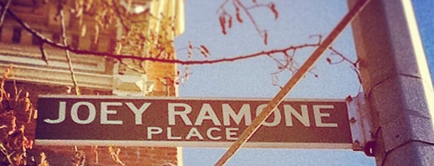 Joey Ramone Place is one of NYC.