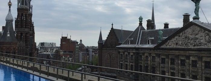 W Lounge is one of Z☼nnige terrassen in Amsterdam.