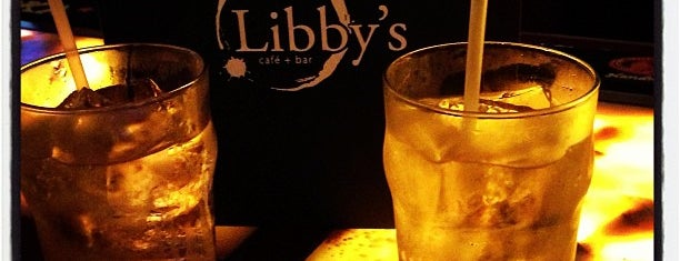 Libby's Cafe & Bar is one of DRINKING in SRQ.