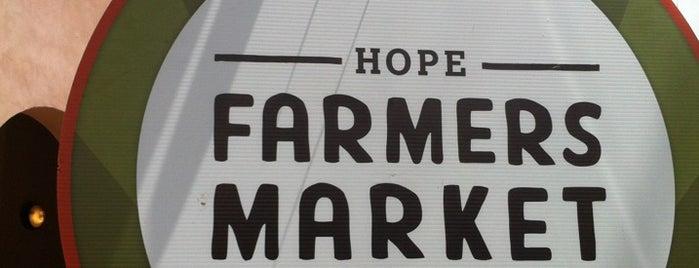 HOPE Farmers Market is one of Indie East Austin.