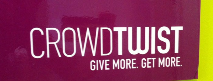 CrowdTwist is one of Startups & Spaces NYC + CA.