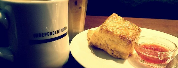 INDEPENDENT COFFEE is one of Cafes in Seoul.
