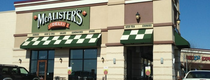 McAlister's Deli is one of Mel's Faves :).